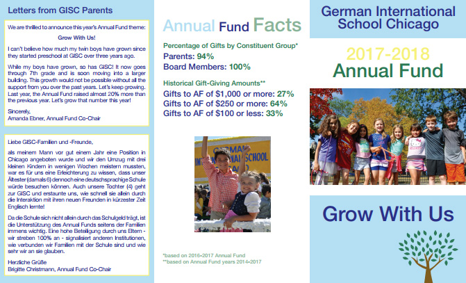 GISC's Annual Fund Brochure